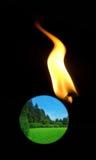 Global problem -  global warming Royalty Free Stock Photos