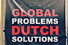 Global Problems, Dutch Solutions Stock Photos