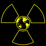 Global radiation Stock Images