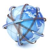 Global railway network Stock Photos