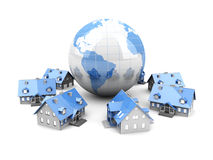 Global Real Estate Royalty Free Stock Images