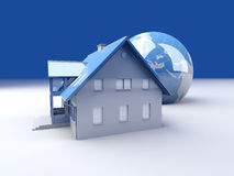 Global Real Estate Royalty Free Stock Photo