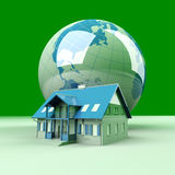 Global Real Estate Royalty Free Stock Photography