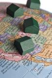 Global real estate Stock Image