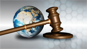 Image result for Earth and Gavel