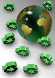 Global recycle Stock Images
