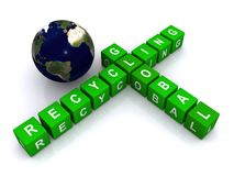 Global recycling Royalty Free Stock Images