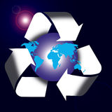 Global recycling Stock Photography