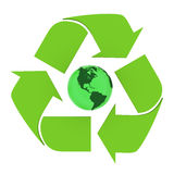 Global recycling Royalty Free Stock Image