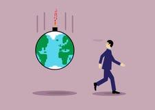 Global Risk Stock Photo
