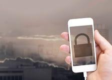 global säkerhet för begrepp royaltyfri foto