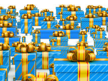 Global sales gift concept Royalty Free Stock Images