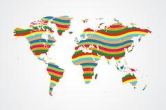 Global samhörighetskänsla Arkivbilder