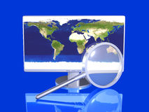 Global Search Royalty Free Stock Photography
