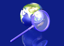 Global Search - Asia Royalty Free Stock Photo