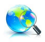 Global search concept Stock Photos
