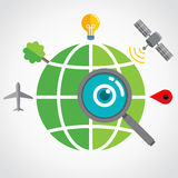 Global Search Royalty Free Stock Photo