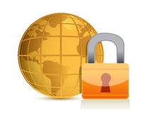 Global security Stock Photo