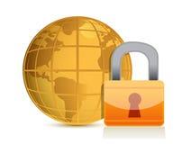 Global security Stock Photo