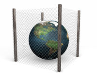 Global security Royalty Free Stock Images