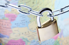 Global security concept Royalty Free Stock Image