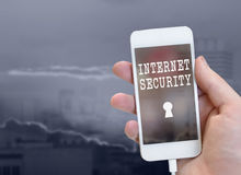 GLobal security concept Royalty Free Stock Photo