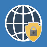 Global and security system design Royalty Free Stock Photography