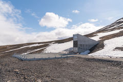 Global Seed Vault entrance Royalty Free Stock Photo