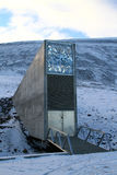 Global seed vault. The global seed vault in the Norwegian Island of Svalbard royalty free stock images