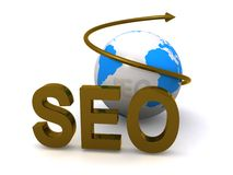 Global SEO Royalty Free Stock Photo