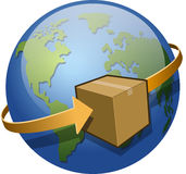 Global Shipping Stock Image