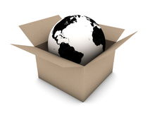 Global shipping concept Royalty Free Stock Image