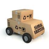 Global shipping concept Royalty Free Stock Photos