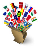 Global Shipping Solutions Stock Photography