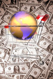 Global shopping Royalty Free Stock Photo