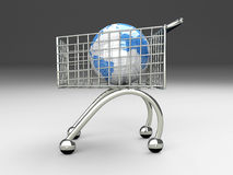 Global Shopping Royalty Free Stock Photography
