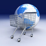 Global Shopping Stock Photography