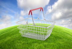 Global shopping concept Stock Images