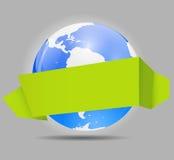 Global Shopping Concept Vector illustration Stock Photos