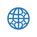 Global sjukvårdsymbol Royaltyfri Foto