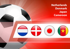 Global Soccer Event Group E Stock Images