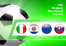 Global Soccer Event Group F Stock Photography