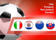 Global Soccer Event Group F Stock Photo