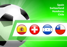 Global Soccer Event Group H Royalty Free Stock Image