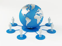 Global Network Royalty Free Stock Photos