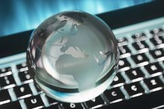 Global sphere concept Royalty Free Stock Image