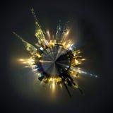 global sphere för affär Arkivfoto