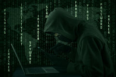 Global spyware Royalty Free Stock Photography