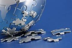 global strategi Arkivbilder