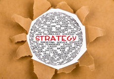 Global strategy concept Royalty Free Stock Photography